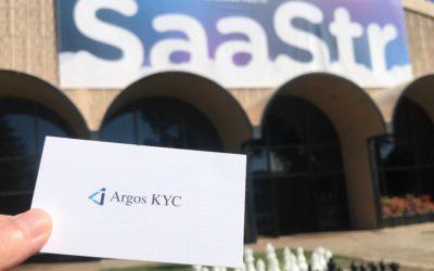 Argos KYC at SaaStr Annual 2021 in San Francisco